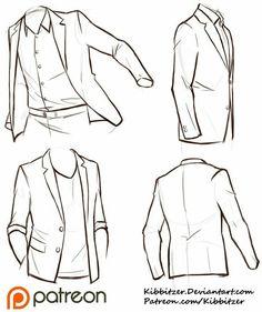 Suit; How to Draw Manga/Anime