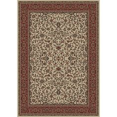 The Conestoga Trading Co. Persian Classics Oriental Kashan Area Rug Rug Size: