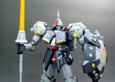 Gundam MS-15B Gyan High Mobility Type Papercraft