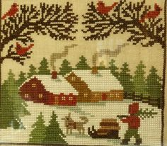 Wicked Stitcher blog: Prairie Schooler