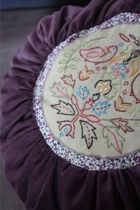 tuto coussin rond
