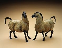 Star Liana York Sculpture | Online Gallery - these horses are just the cutest... I want them! - unfortunately they sell for $5,500...