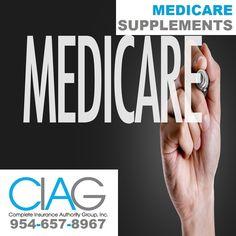 (954) 657-8967 Medicare Supplement Insurance in Boca Raton, Florida: Get Insured by CIAG. #medicaresupplementsBocaRaton http://insurancepompano.com/insurance-boca-raton/ Agent: Larry Karavasilis