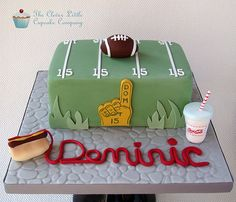 American Football Cake | Flickr - Photo Sharing!