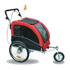 Aosom Elite II Pet Dog Bike Bicycle Trailer Stroller Jogger w/ Suspension, http://www.amazon.com/dp/B005DDGIGE/ref=cm_sw_r_pi_awdm_h.umub02Y37TA