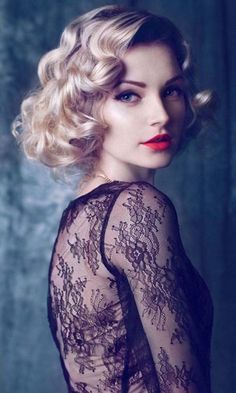 Chic Hairstyles You Must Love Splendid Retro                                                                                                                                                                                 More