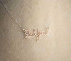 'Be You' Rose Gold Necklace.