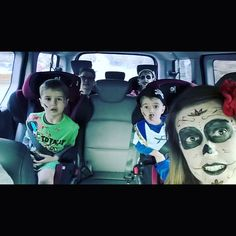 Look out the Adams family are on tour . . .  #halloween #familyfun
