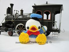 Baby Donald Duck Amigurumi Pattern