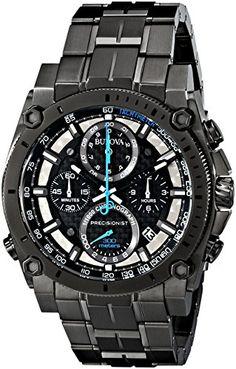 Bulova-Mens-98B229-Precisionist-Analog-Display-Japanese-Quartz-Grey-Watch