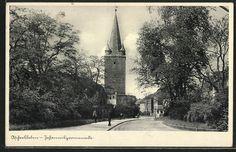 Aschersleben, Johannispromenade  (Postkarte 1940)