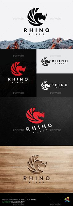 Rhino Wing — Photoshop PSD #guardian #sports • Available here → https://graphicriver.net/item/rhino-wing/20031314?ref=pxcr