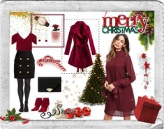Christmas Dinnner Outfits High Waist Rock, Pullover, Elegant, Lifestyle Blog, Winter, Christmas, Outfits, Image, Fashion