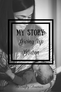 Giving up gluten was not as easy as I thought it would be. So many habits that I had been following for years just wouldn't let go.  But I gave it up for my health and its made a remarkable difference!