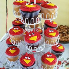 south carolina gamecock cake | USC cocky cupcakes