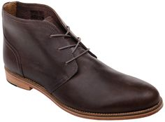 J-Shoes Charlie - Raisin Charlie by J Shoes. A sophisticated mens lace up burnished leather brogue with a tapered toe shape, stacked leather heel and real leather sole. A refined classic with a modern edge. http://www.MightGet.com/february-2017-2/j-shoes-charlie--raisin.asp