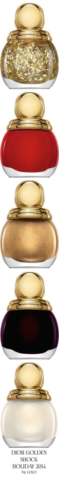 Dior Golden Shock for the Holidays...NYC | LOLO