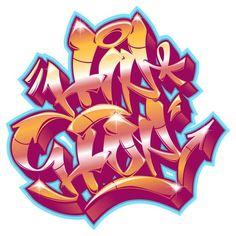 Graffiti Lettering Alphabet, Graffiti Writing, Graffiti Font, Graffiti Tagging, Graffiti Designs, Graffiti Wall Art, New York Graffiti, Goat Art, Wall Stickers Animals