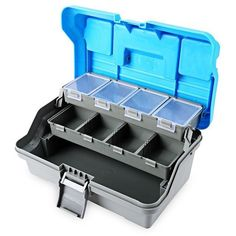 3 Layer Multi-Functional Tackle Plastic Handle Box 1 Set Fishing Tackle Boxes