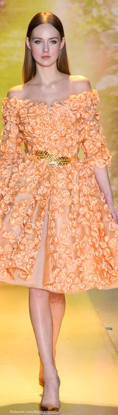 Zuhair Murad Haute Couture | S/S 2014 Seguici su Hermans Style diventa nostra fan ed entrerai nel mondo fantastico del Glamour !!!  Shoe shoes scarpe bags bag borse fashion chic luxury street style moda donna moda uomo wedding planner  hair man Hair woman  outfit time watch nail  print photo foto fotografia cartoline Photography tattoo