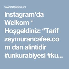 """Instagram'da Welkom * Hoşgeldiniz: """"Tarif zeymurancafee.com dan alintidir #unkurabiyesi #kurabiye #kurabiyeler #koekjes #koekjesbakken #sahanelezzetler #lekker #lekkerkoekje…"""" • Instagram"""
