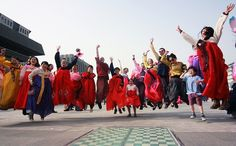 The Hanbok March - Hosted by Michael Aronson, 'The Hanbok March' is an event for everyone who wants to wear their hanbok and take a walk through Seoul.