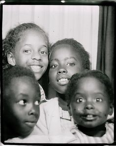 Photo booth full....Now this is really the way we use to do it, just all jump in for 25 cent and you got four pictures.