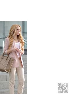 Love if jacket were longer and not such a blueish pink, more of peachy pink would work