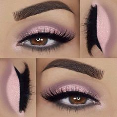 Eye Makeup Tips – How To Apply Eyeliner Makeup Goals, Love Makeup, Makeup Inspo, Makeup Inspiration, Makeup Tips, Makeup Ideas, Neutral Makeup, Easy Makeup, Sleek Makeup