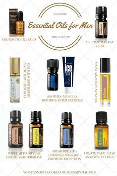 doterra essential oils for men