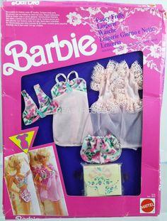 Barbie Fancy Frills Foreign Fashions #2978 NRFP Mint Cond 1991 Mattel, Inc. 3+ | eBay