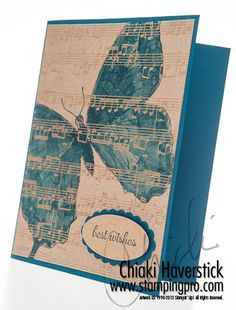 Swallowtail and Fabulous Phrases stamp sets; Midnight Muse inkpad and cardstock; Natural Composition Specialty DSP; Large Oval and Scallop Oval punches;  Aqua Painter