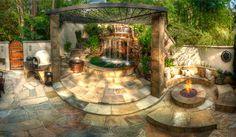 Garden Spa, Backyard Spa, Luxury Spa