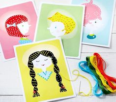 Sewing class is now in session! It's time to head to the salon for a hairstyle makeover with the new Handmade Charlotte Lacing Girl Kits.