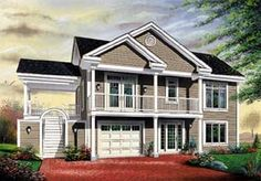 Traditional House Plan 64806 Elevation