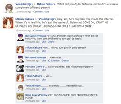 What if Gakuen Alice have Facebook