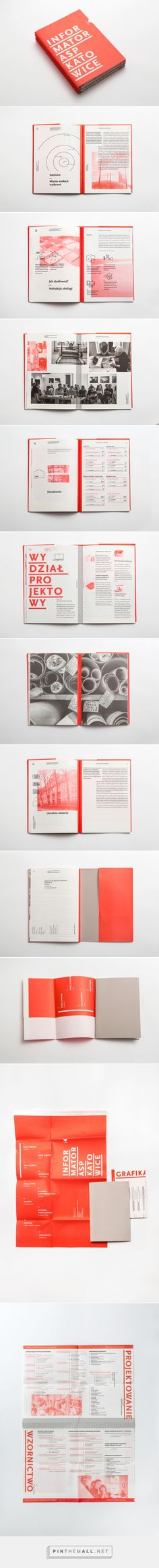 Informator ASP Katowice / Guide on Behance... - a grouped images picture - Pin Them All