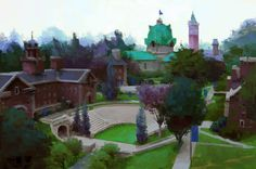 Artes da produção de Monsters University, por Robert Kondo | THECAB - The Concept Art Blog