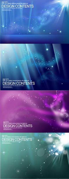 Dream star background art vector
