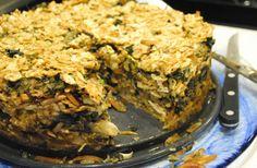 Passover Bastilla (Chicken-Matzah Pie Bake )