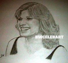 JUDY NORTON TAYLOR/THEWALTONS CELEBRITY REALISM GRAPHITE DRAWING BY ARTIST