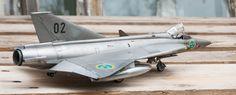 SAAB S35E Draken by Jon Myhr Wahlen (Hasegawa 1:48)