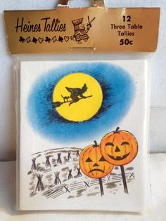 12 pack Bridge Tally Cards By Heines House New Unopened ($26 @ $3 each) 2017 #vintage #Halloween #collectibles #games