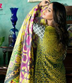 Monsoon Printed Cambric Suit collection By Al-Zohaib Textile AZ_8A