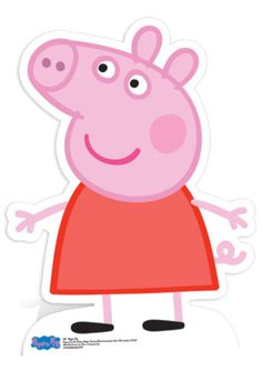 Peppa Pig Stand Up Photo Prop