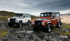 fire & ice defender / land rover