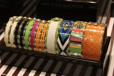 I will have this set of bangles.. One Day - Henri Bendel