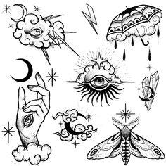 Flash Art Tattoos, Body Art Tattoos, Cool Tattoos, How To Draw Tattoos, Female Back Tattoos, Tatoos, Ship Tattoos, Gun Tattoos, Pin Up Tattoos