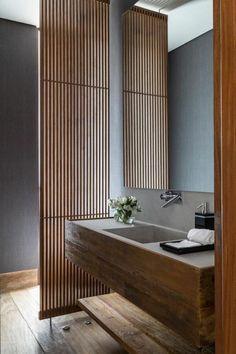 Einrichtung small modern bathroom - wooden bathroom furniture be harmful to your garden. Zen Bathroom, Wooden Bathroom, Bathroom Toilets, Bathroom Furniture, Bathroom Interior, Small Bathroom, Master Bathroom, Japanese Bathroom, Bathroom Ideas