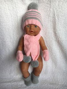 Stirnband passend für Baby Born,Mütze,Handarbeit, Puppen & Zubehör